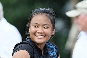 Numa Gulyanamitta after her round on Monday, she shot a 70.