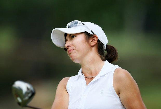 Marina Alex at No. 9 during Monday stroke play. Alex shot a 70 and is T6.