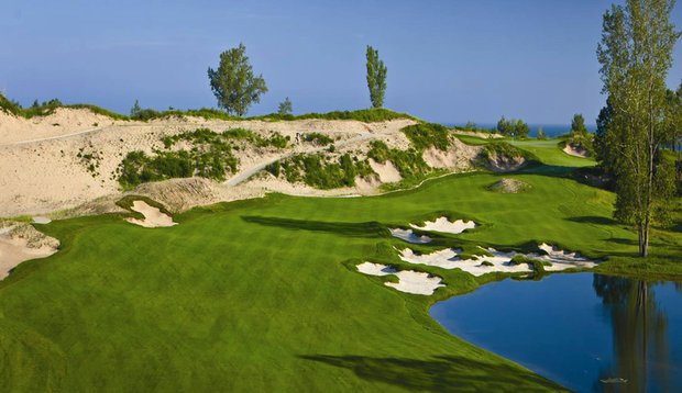 The Golf Club at Harbor Shores in Michigan.