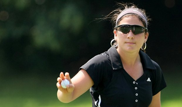Rachel Rohanna during the first round of stroke-play qualifying at the U.S. Women's Amateur.