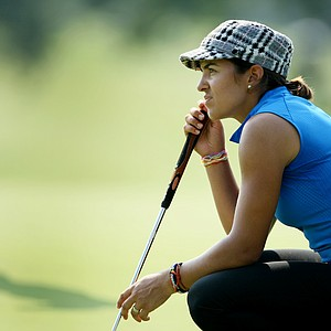 Paula Reto of South Africa at No. 18. Reto posted rounds of 81 and 72.