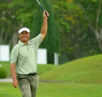 Mardan Mamat hopes to be celebrating another success at Laguna National this week.