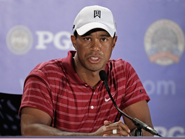 Tiger Woods said Tuesday that he would be interested in playing on the U.S. Ryder Cup team as a captain's pick.