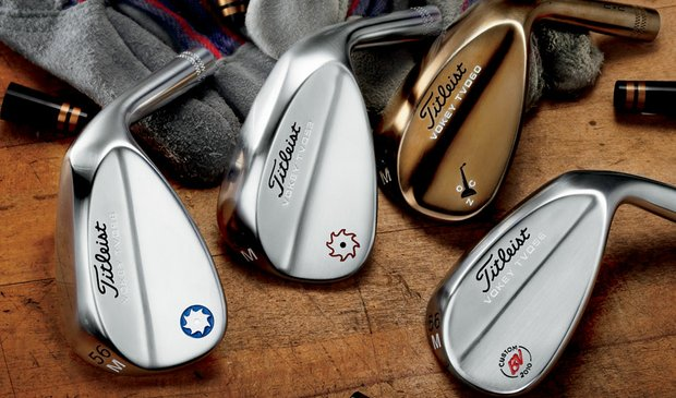 Titleist Vokey Design Spin Mill TVD wedges