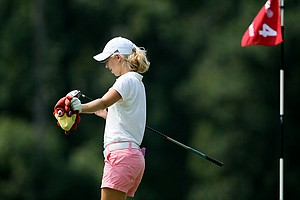 Corrine Carr defeated Brooke Pancake in 20 holes during Wednesday's Round of 64.