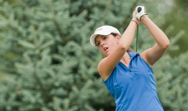 Emma Talley at the 2010 Junior PGA Championship.