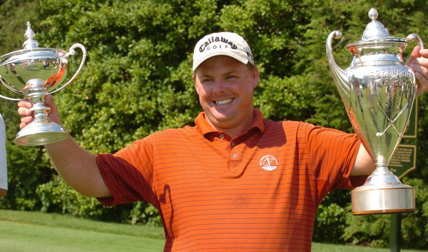 Tim Fisher, pictured in 2008, was suspended from USGA events for one year.