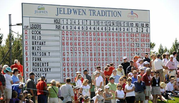Jeld-Wen has announced that it will no longer be the title sponsor of the annual Tradition event on the Champions Tour.