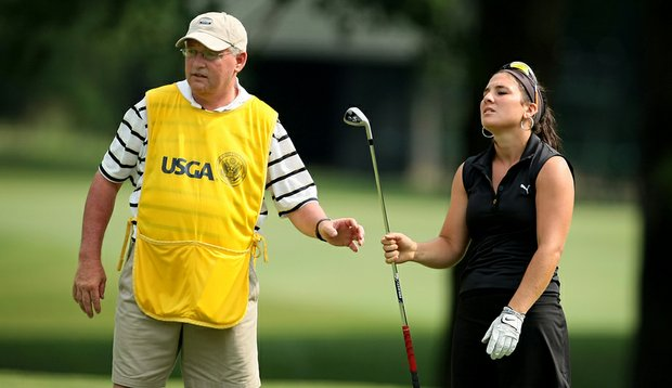 Rachel Rohanna lost in the Round of 32 at the U.S. Women's Amateur.