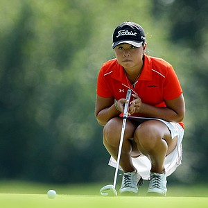 Danielle Kang at No. 3 during Friday's quarterfinals. Kang defeated Sydnee Michaels in 19 holes.