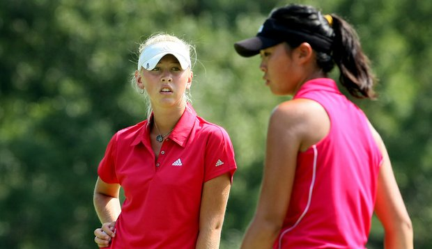 Jessica Korda defeated Erynne Lee 4 and 3 during Friday's quarterfinals of the 2010 Women's Amateur.