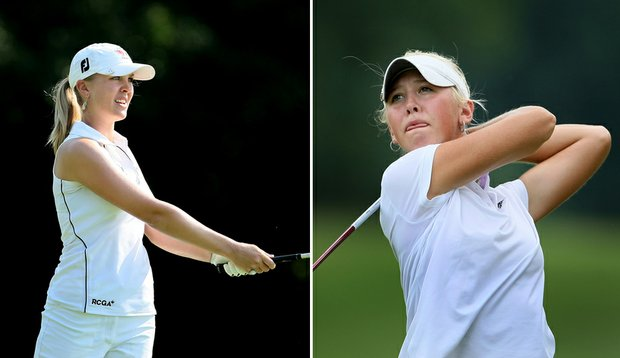 Jennifer Kirby and Jessica Korda