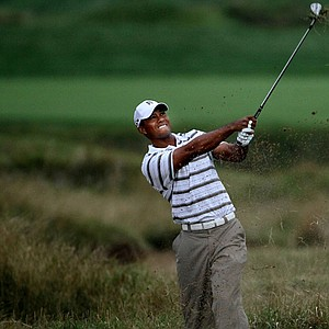 Tiger Woods during Round 2 of the PGA Championship.