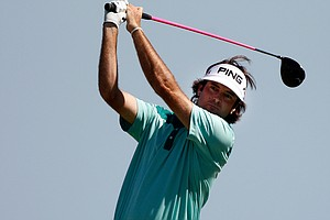 Bubba Watson during the final round of the PGA Championship.