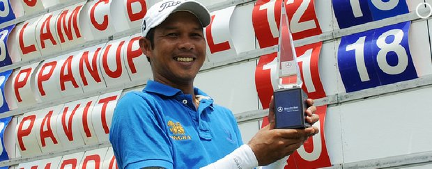Chawalit Plaphol won the Mercedes-Benz Masters Singapore on Aug. 14, 2010.
