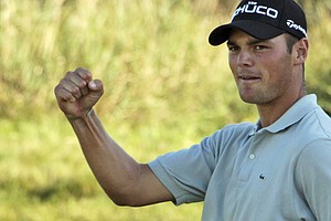 Martin Kaymer during the final round of the PGA Championship.
