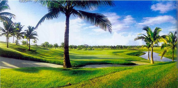 Yalong Bay Golf Club in Hainan, China.