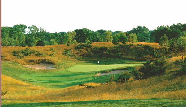 Number four at The Glen Club in Glenview, Ill.