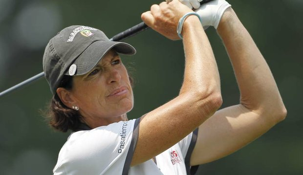 Juli Inkster during the U.S. Women's Open.