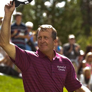 """Nobody was taking off. I thought that Tom or Bernhard (Langer) would get to 13 or 14 under, but nobody did. Guess it was a testament to how tough the golf course was playing.""