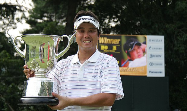 Shigeru Nonaka claimed his first Japan Golf Tour Organisation victory Aug. 22 at the Kansai Open Championship.