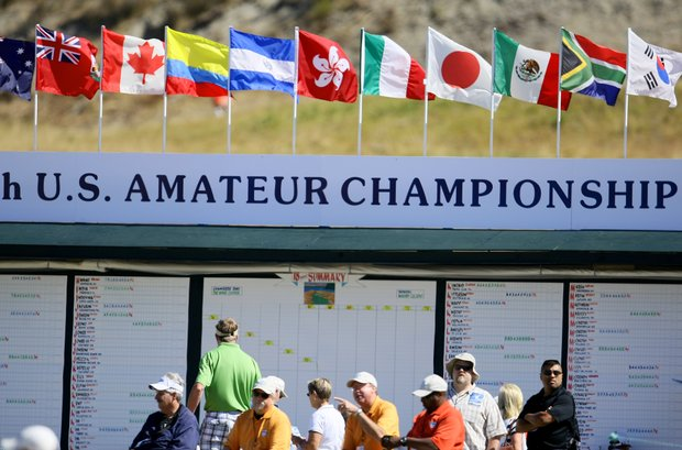 The 110th U.S. Amateur Championship at Chambers Bay in University Place, Wash.