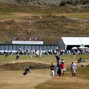 The 110th U.S. Amateur Championship at Chambers Bay.