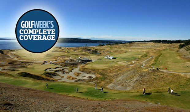 Chambers Bay, site of the 110th U.S. Amateur Championship.