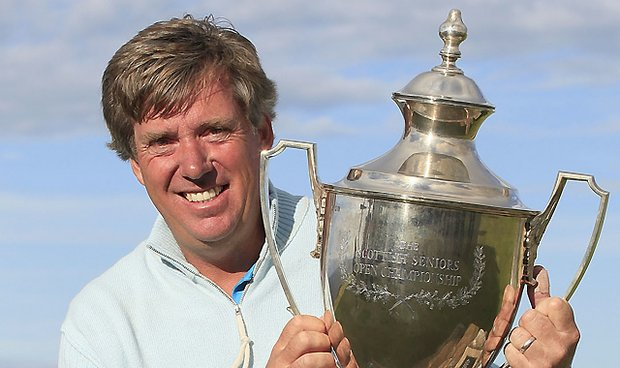 Barry Lane recently won the Scottish Senior Open but still wants to play with the youngins.