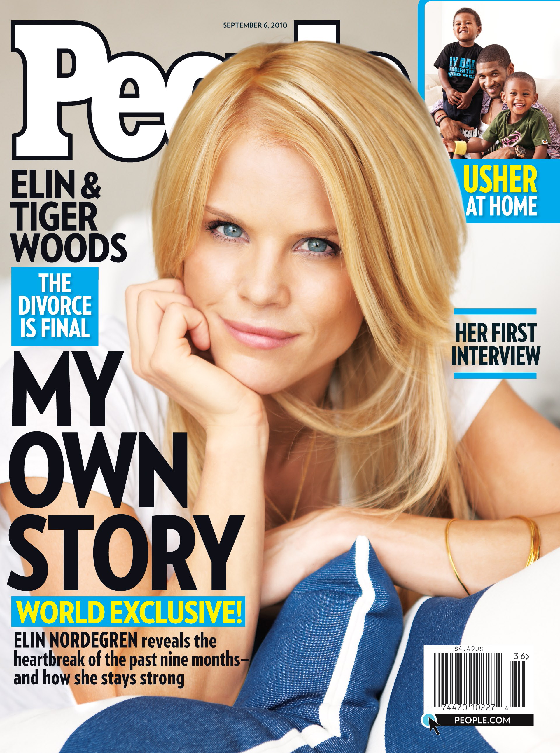 Elin Nordegren is featured on the cover of the Sept. 6, 2010 issue of People.
