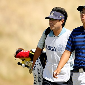 Byeong-Hun An closed out Alex Shi Yup Kim, 4 and 3, in the Round of 32.