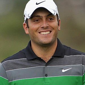 Francesco Molinari during the first round of the Johnnie Walker Championship.