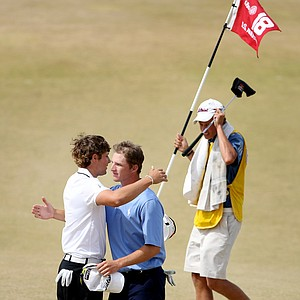 Peter Uihlein defeated Morgan Hoffmann during quarterfinals.
