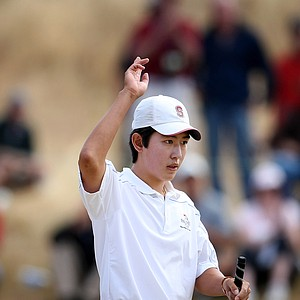 David Chung defeated defending champion Byeong-Hun An in the semifinals of the U.S. Amateur.