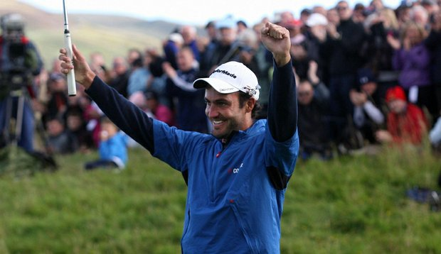 Edoardo Molinari won the Johnnie Walker Championship.