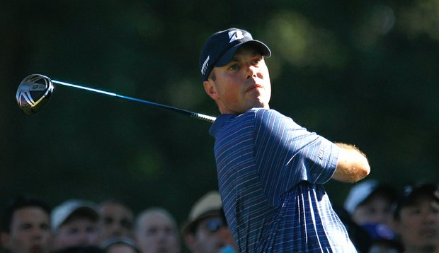 Matt Kuchar during the final round of The Barclays.