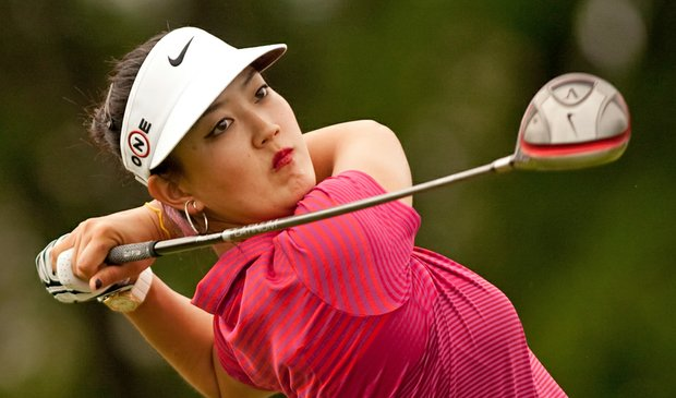 Michelle Wie during the final round of the Canadian Women's Open.