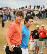 Peter Uihlein and David Chung