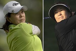 Il Mi Chung (left) and Shi Hyun Ahn