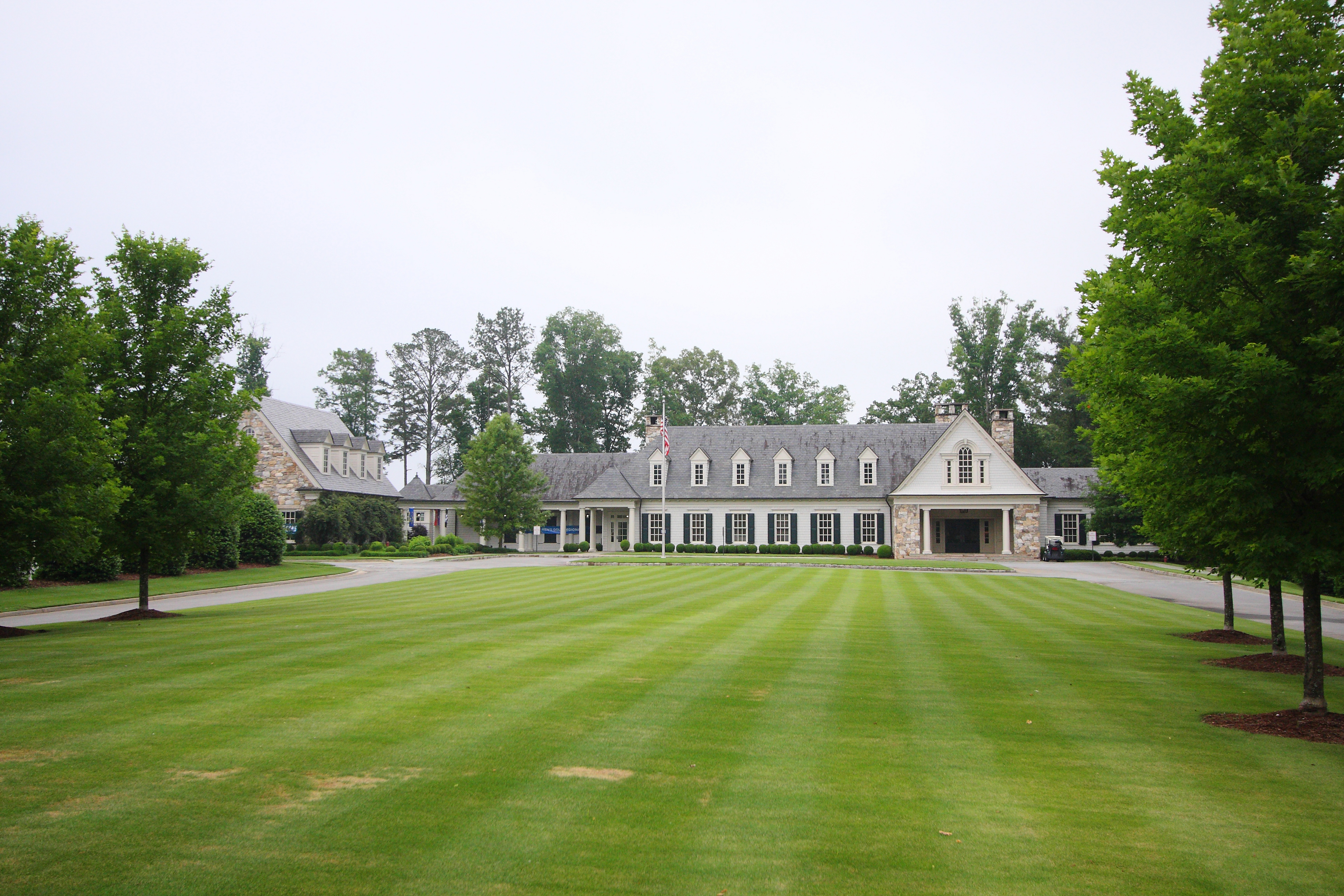 The clubhouse at the Capital City Club in Atlanta.
