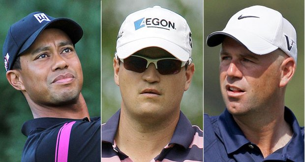 Tiger Woods, Zach Johnson and Stewart Cink are top candidates for Ryder Cup captain's picks. Corey Pavin makes his wildcard picks Tuesday.