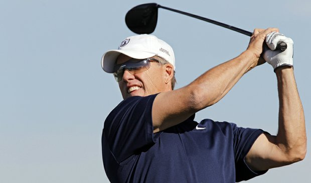 John Elway during Round 1 of the Colorado Senior Open.