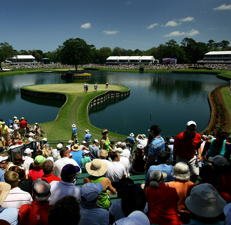 No. 17 on the Players Stadium Course during the 2010 Players Championship.
