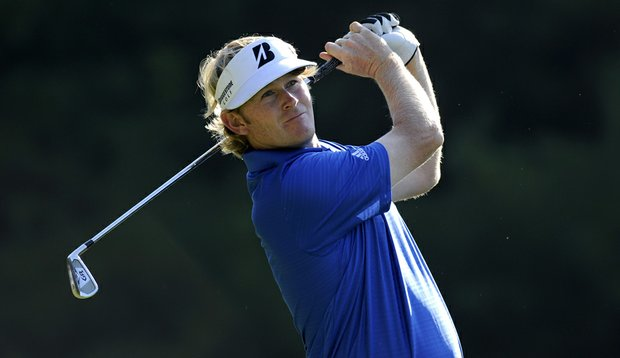 Brandt Snedeker during Round 2 of the Deutsche Bank Championship.