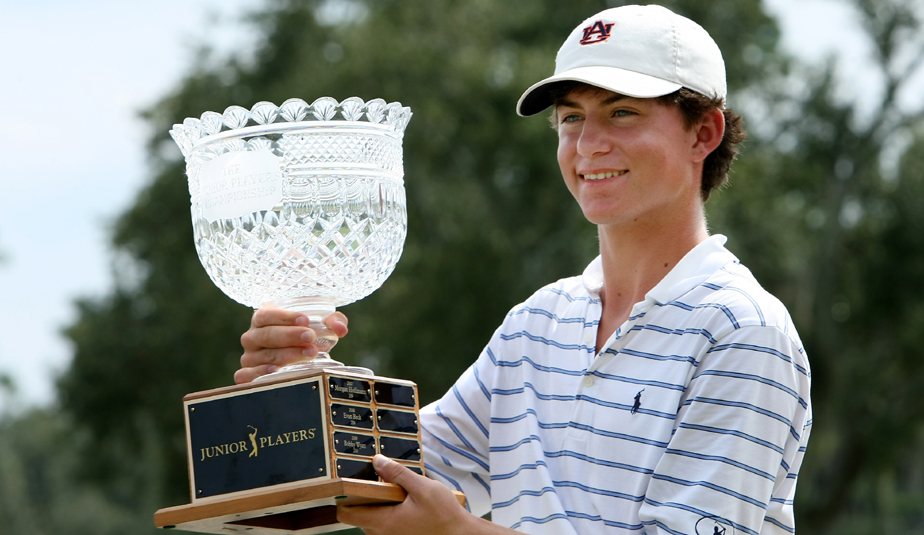 The last player in the field as a sixth alternate, and a relative unknown in junior golf circles, Michael Johnson held off Jordan Spieth and Emiliano Grillo to win the AJGA Junior Players Championship at TPC Sawgrass.