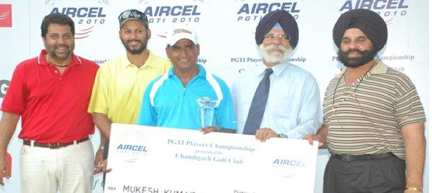 Mukesh Kumar claimed victory in Chandigarh.