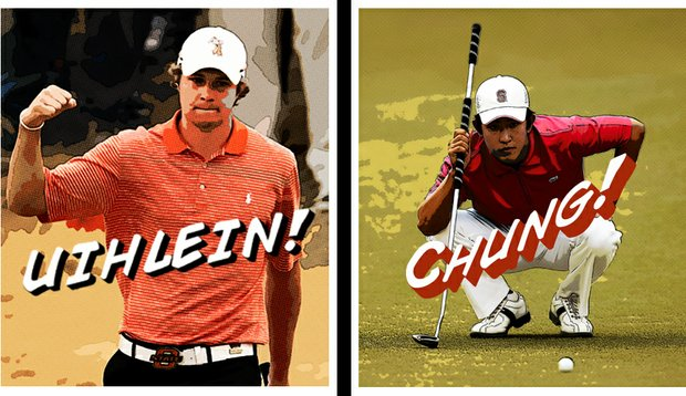 Oklahoma State's Peter Uihlein and Stanford's David Chung are <em>Golfweek's</em> top preseason college players.