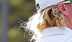 Charley Hoffman's flowing blond locks.