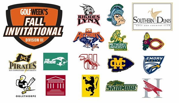 Fifteen of the nation's top Division III schools will square off at Golfweek's Fall Invitational in Haines City, Fla.
