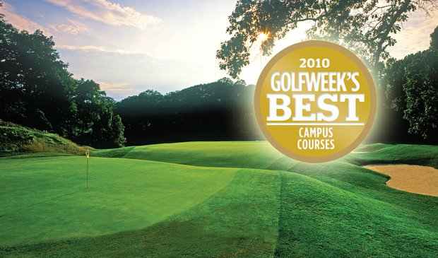 The Course at Yale, No. 1 on 2010 Golfweek's Best Campus Courses list.